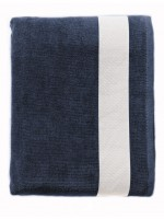 azur tex yachting serviette lagoon 89006 french navy white a