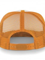 casquette filet dos orange 32969