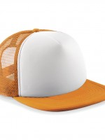 casquette filet orange et blanc 32969