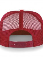 casquette filet rouge dos 32969
