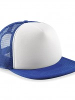 casquette filet royal et blanc 32969