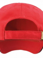 casquette rouge dos 34234
