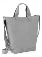 sac coton canvas gris 62629