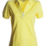 polo femme glamour lime light high