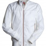 blouson imperm  able homme subway blanc