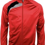 veste survetement pa306 red
