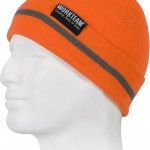 bonnet haute visibilite orange wfa915