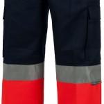 pantalonhautevisibilitebleumarineetorangec4057