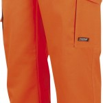 pantalon haute visibilite fast orange