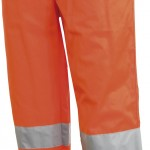 pantalon haute visibilite panxeno orange
