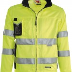 veste haute visibilite race yellow blue navy high