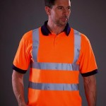 polo haute visibilite orange 57777
