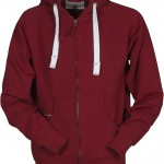 sweat homme full zip dallas bordeaux