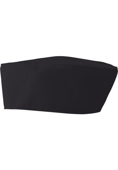 Vetement professionnel restauration par azur tex magasin for Cuisinier chapeau noir