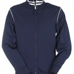 sweat homme drytech zip derby marine