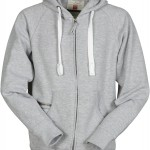 sweat homme full zip dallas gris