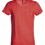 tee shirt homme discovery pocket coral cool high