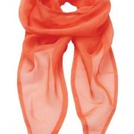 foulardsoiefemmeorange