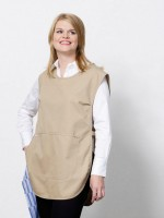azur tex vetements hotellerie restauration amb tablier beige serveuse