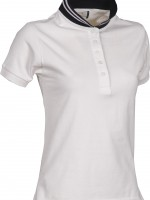 polo femme reverse lady blanc