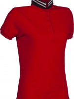 polo femme reverse lady rouge