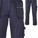 pantalondetravailpolyestercotonmarine