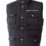 gilet polyester coton multipoches