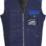 gilet sans manches epi tucson blu navy blu royal high