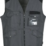 gilet sans manches epi tucson grey black high
