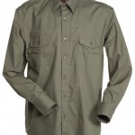 chemise homme trophy verde coloniale high