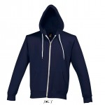 sweat homme zip silver 47700 abyss blue a