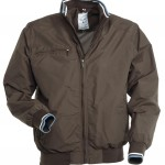 blouson homme pacific marrone high